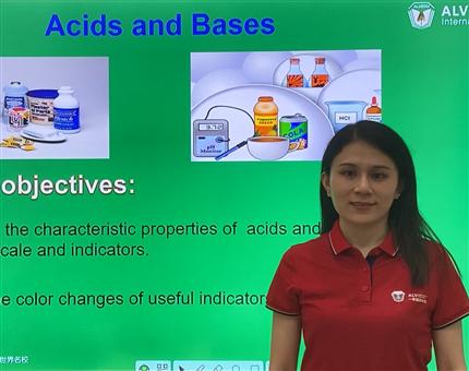 ALV IGCSE化学公开课